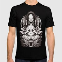 THE KINGDOM Mens Fitted Tee Black SMALL