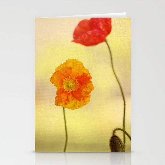 Jeune Fille Stationery Card