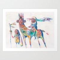 Colour Nomads Art Print