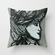 Victorian II Throw Pillow