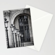 Parisian Streetlamps Stationery Cards