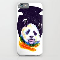 iPhone & iPod Case featuring Panda Technicolor by PawixZkid