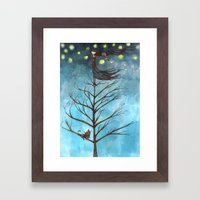 In The Nothing Of A Nigh… Framed Art Print