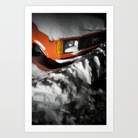 Snowbound Art Print