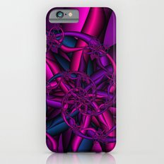Pink Purple and Blue iPhone 6 Slim Case
