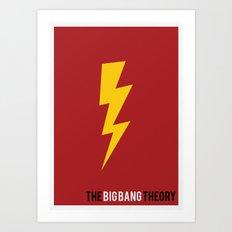 The Big Bang Theory - Minimalist Art Print