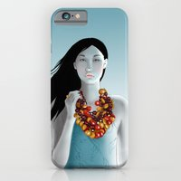 iPhone & iPod Case featuring model 5 by Glashka