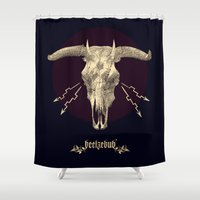 Beelzebub ♆ Shower Curtain