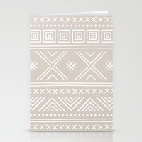 Into The West - In Taupe Stationery Cards