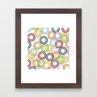 Hoopla Framed Art Print