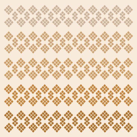 Gold Diamonds Art Print