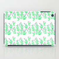 Prickly Pear Spring - Wh… iPad Case