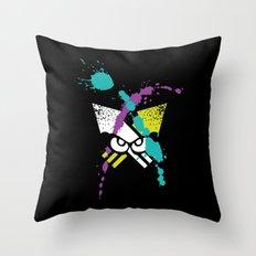 Splatoon - Turf Wars 3 Throw Pillow