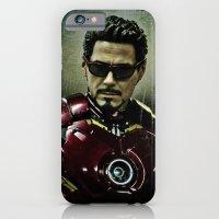 Tony Stark In Iron Man C… iPhone 6 Slim Case
