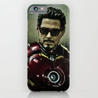 Tony Stark In Iron Man C… iPhone 6 Slim Case