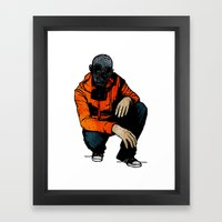 Waiting For (Inevitable)… Framed Art Print