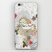 Kokeshina Ivoire iPhone & iPod Skin