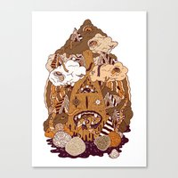 Of The Forest Canvas Print
