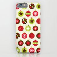 Christmas Baubles iPhone 6 Slim Case