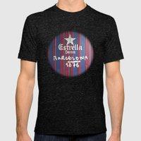 Estrella Barcelona Mens Fitted Tee Tri-Black SMALL