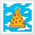 Pizza Be With You Art Print