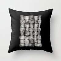 Drawing 1 Throw Pillow