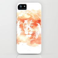 iPhone & iPod Case featuring Lion Watercolor by Nicole Lianne