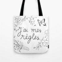 J'AI MES RÈGLES / I'M O… Tote Bag