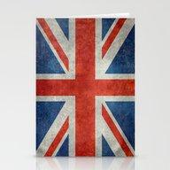 UK British Union Jack Fl… Stationery Cards