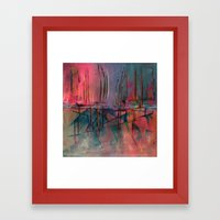 Imaginary Distances Framed Art Print