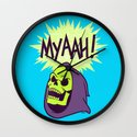 Myaah! Wall Clock