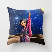 Mercury Princess Throw Pillow