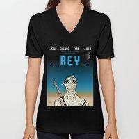 Rey Unisex V-Neck