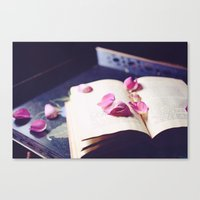 scattered memories Canvas Print