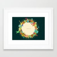 Planet One Framed Art Print