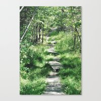Happy Trails Canvas Print
