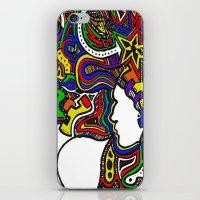 Rainbow Techno iPhone & iPod Skin