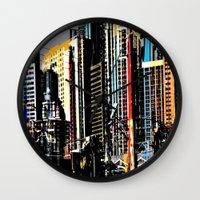 Vegas Baby Wall Clock