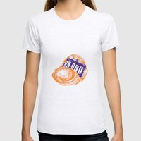 Irn-Bru can Womens Fitted Tee Ash Grey SMALL