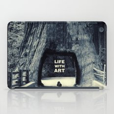 Life WITH art & Life without iPad Case