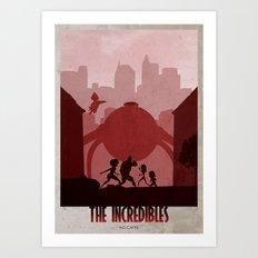 The Incredibles Art Print