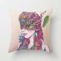 Before All Things Throw Pillow