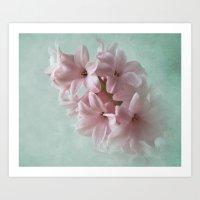 Fleeting Pink Spring Art Print