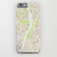 Paris SGB Watercolor Map iPhone 6 Slim Case