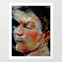 Ricky Hatton Art Print