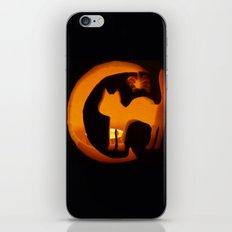 Meow - Halloween Kitten iPhone & iPod Skin