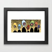 Screamers Framed Art Print