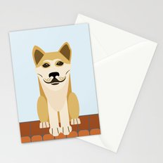 Shiba dog vector Stationery Cards