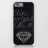 iPhone & iPod Case featuring SHINE BRIGHT LIKE A DIAMOND  by Hadeel alharbi