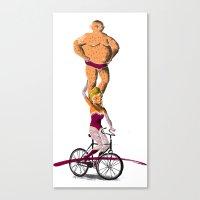//Circus Bike// Canvas Print